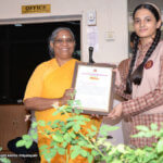 Khushi Agarwal Excels in Drawing Exam