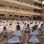 School Celebrates International Yoga Day